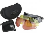 Okulary strzeleckie Beretta OCA10 Z Wymiennymi Soczewkami